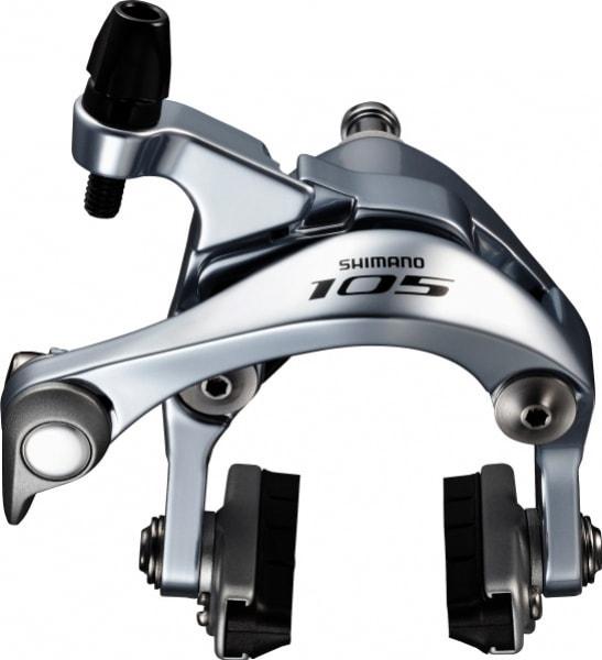 Brzda Shimano 105 BR-5800 přední stříbrná 51mm original balení