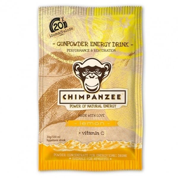 nápoj Chimpanzee Gunpowder Energy 30g citron