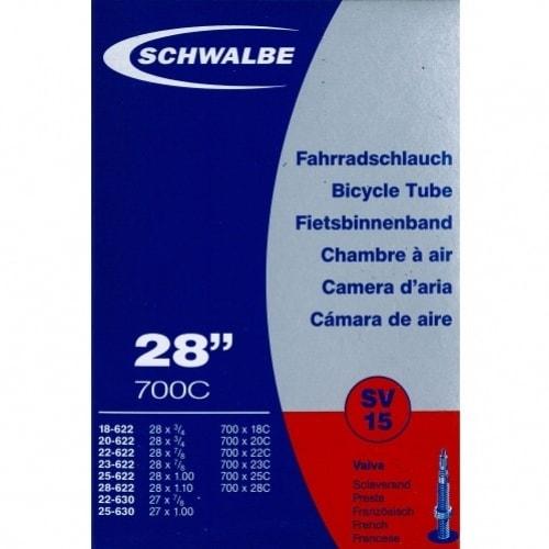 Duše SCHWALBE SV15 28'x 3/4-1.10 (18/28-622) FV/40mm