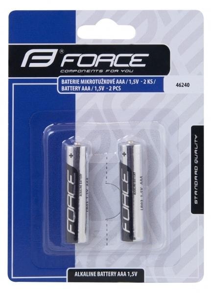baterie AAA FORCE alkalicka 2ks